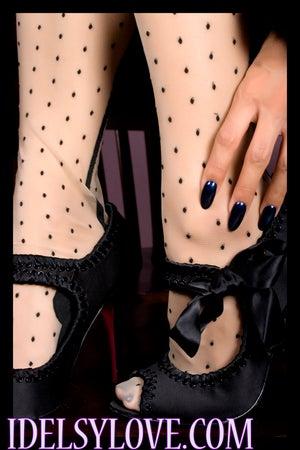 Image of Black Betsey Johnson Heels