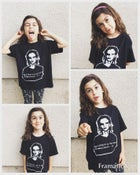 Image of Black Mug Shot Tee (Youth Sizes)