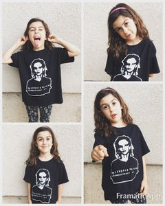 Image of Black Mug Shot Tee (Youth Sizes) 50% off