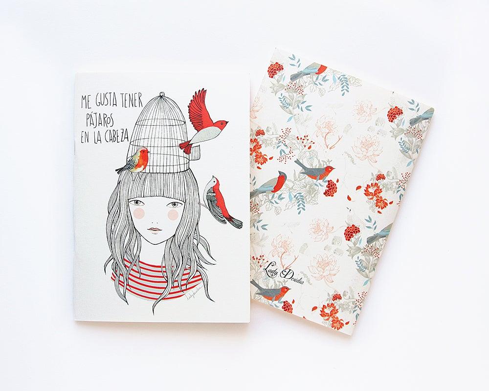 Image of Notebook Pájaros en la cabeza