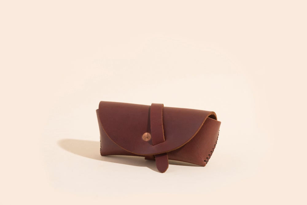 Image of Eyewear Case - Mahogany