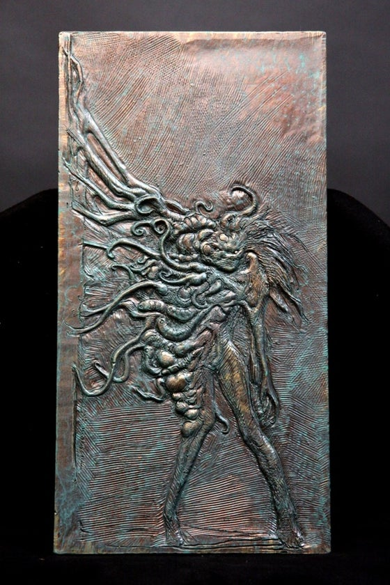 Image of Harbinger Down Bas Relief