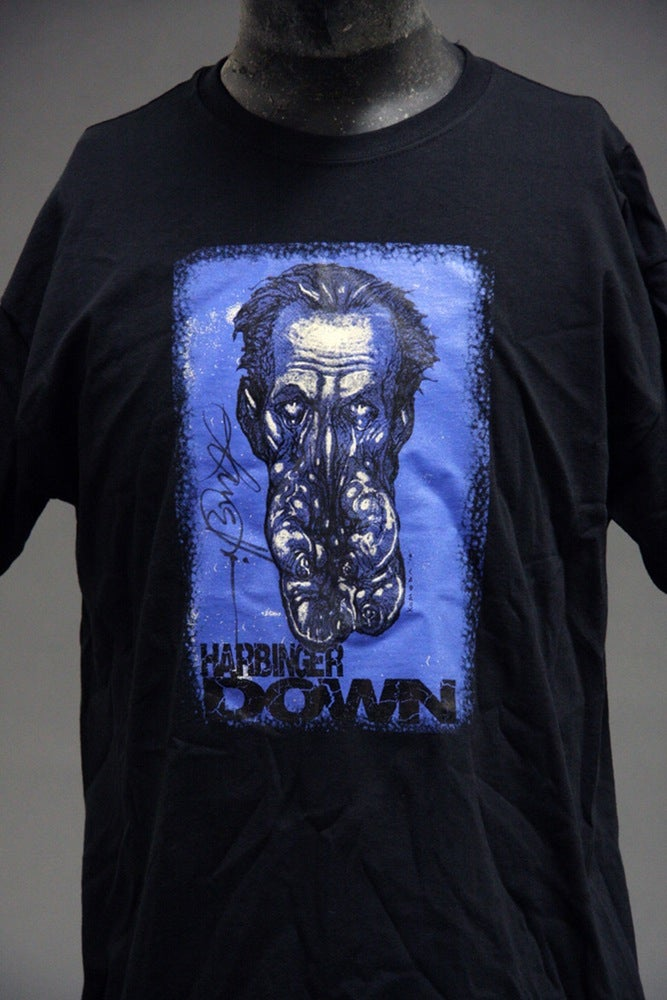 Image of Harbinger Down T-Shirt - Signed by Lance Henriksen