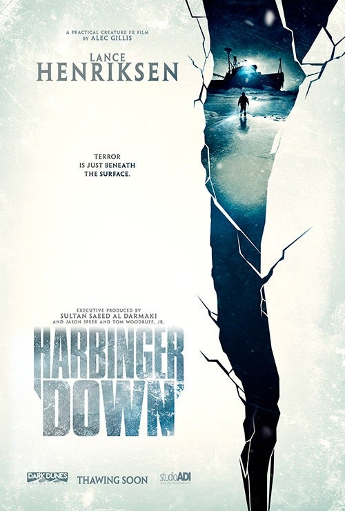 Image of Harbinger Down Poster