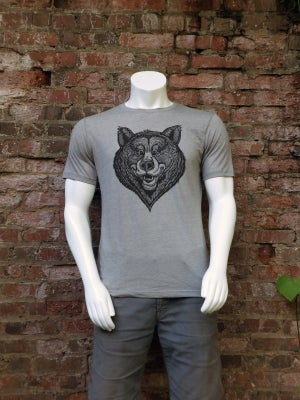 Image of Happy Bear Face T-shirt **FREE SHIPPING**