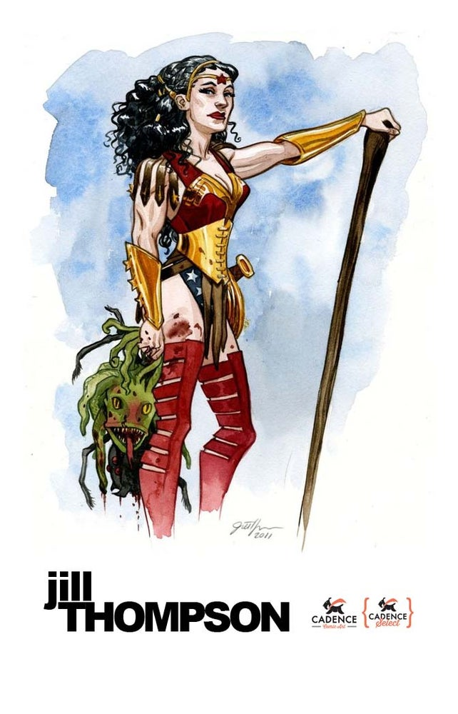 Image of Jill Thompson Commission (Mail Order)
