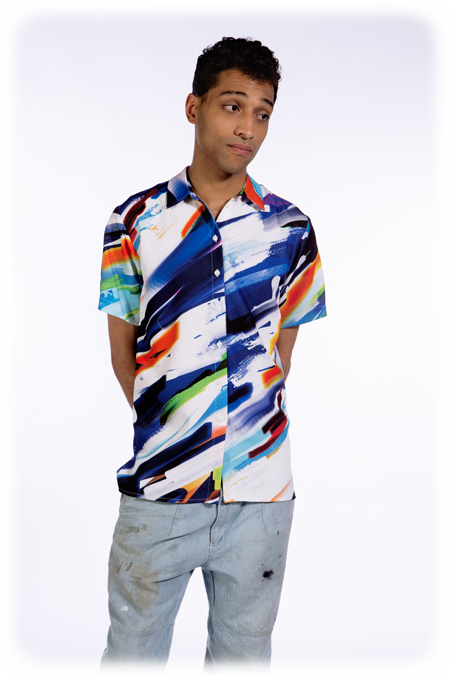 Image of 50% OFF - Short Sleeve Shirt - Mixed Media