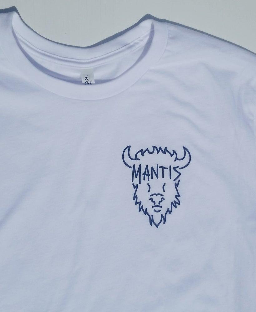 Image of Mantis Bison Shirt White