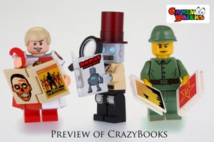 Image of Crazy Book - first time available ONLINE!