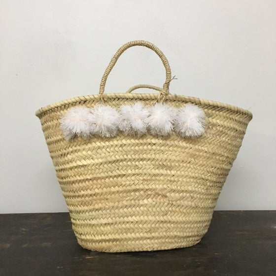 Image of topanga basket - white