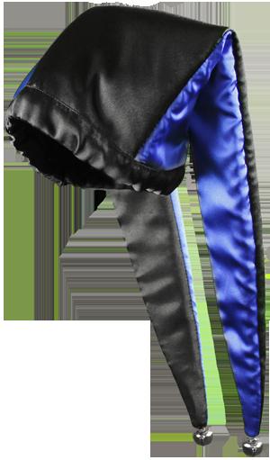 Image of Blue Harlequin Hat