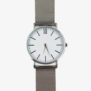Image of The Mesh Watch – Silver Steel