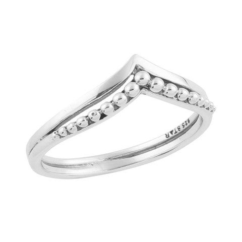 Image of Sterling Silver Crest Ring
