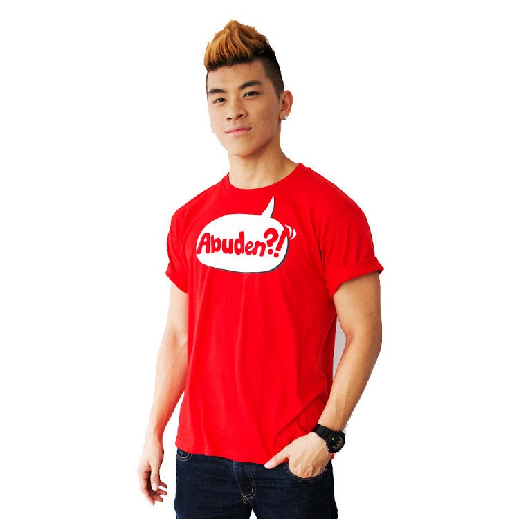 Image of ABUDEN?! Unisex Statement Tee (Red)