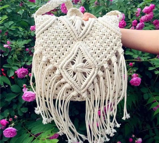 Image of Ballina macramé dreamers bag