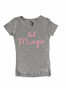 Image of NEW: Lil Minga Child T-Shirt Gray