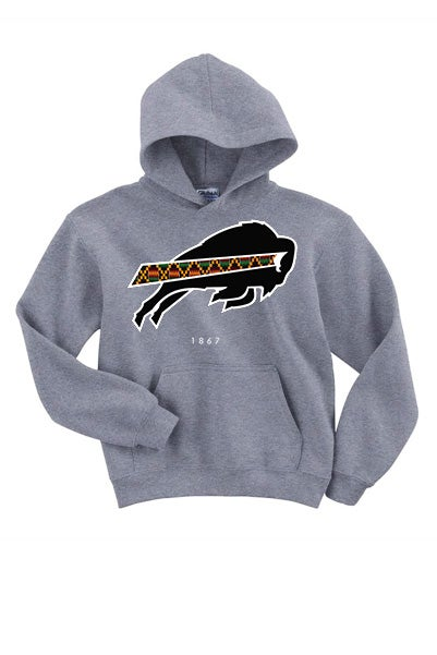 Image of 1867 Collection - Grey Hoodie