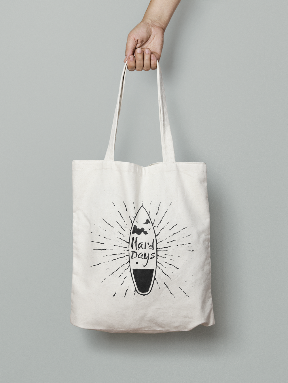 Image of HARD DAYS CANVAS BAG
