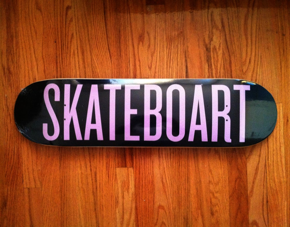 Image of SKATEBOART Deck