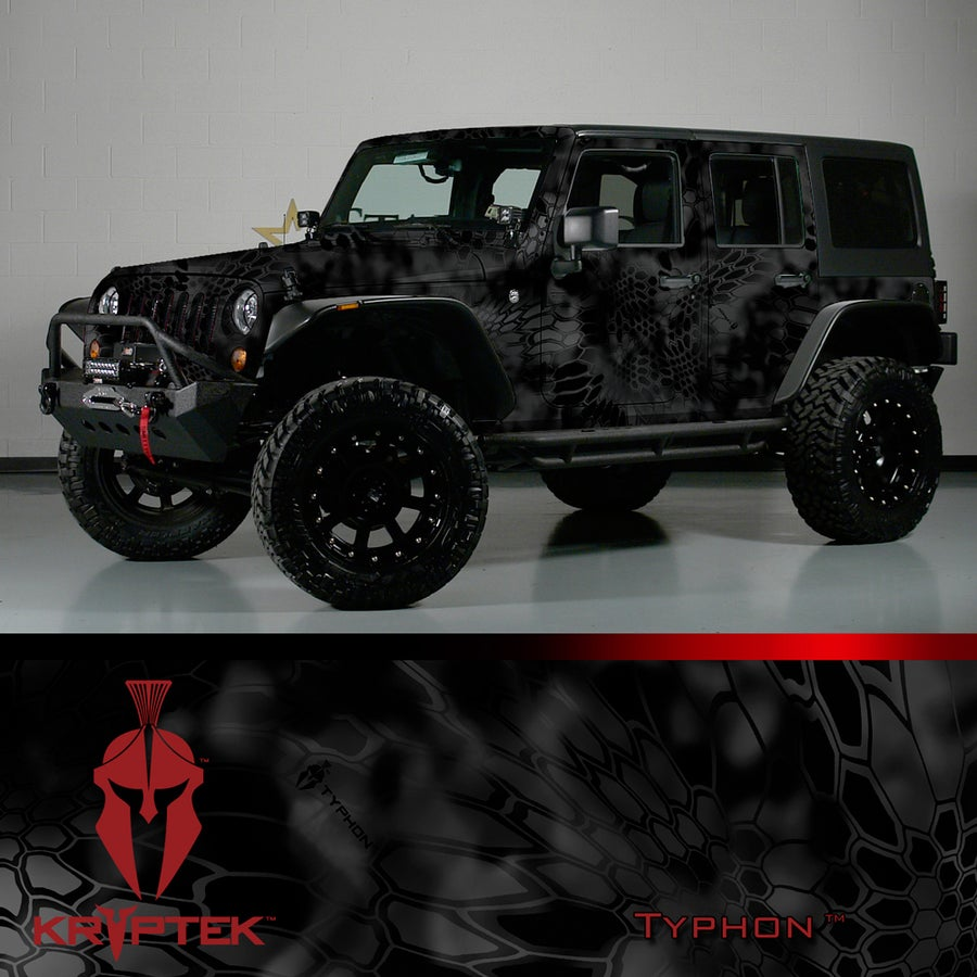 Image of KRYPTEK® Camo Vehicle Wrap KIT EXCLUSIVE