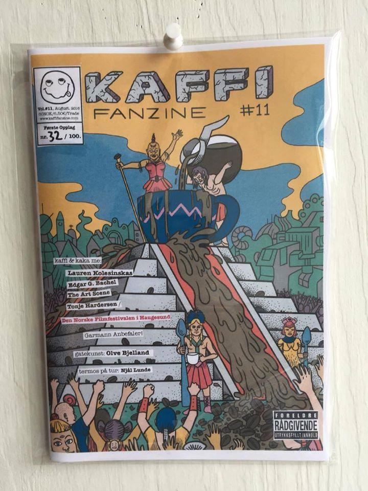 Image of kaffi fanzine Vol.#11 (2016) Standard