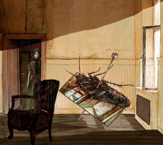 Image of The Metamorphosis   Buy Illustration Art Prints for Sale