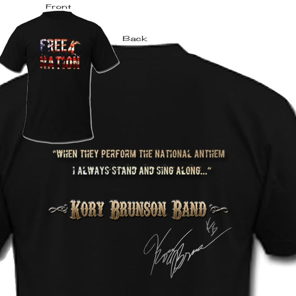 "Image of Freek Nation t shirt ""National Anthem"" - SIGNED"