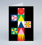 Image of Star Tree Christmas card