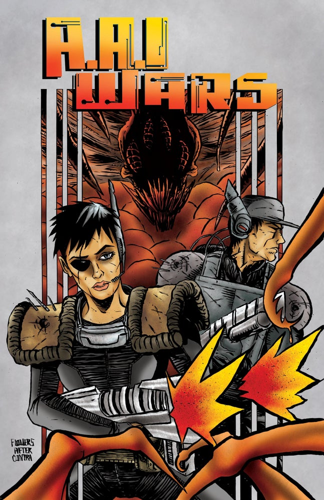Image of A.A.I WARS - ISSUE 1 - Physical Copy