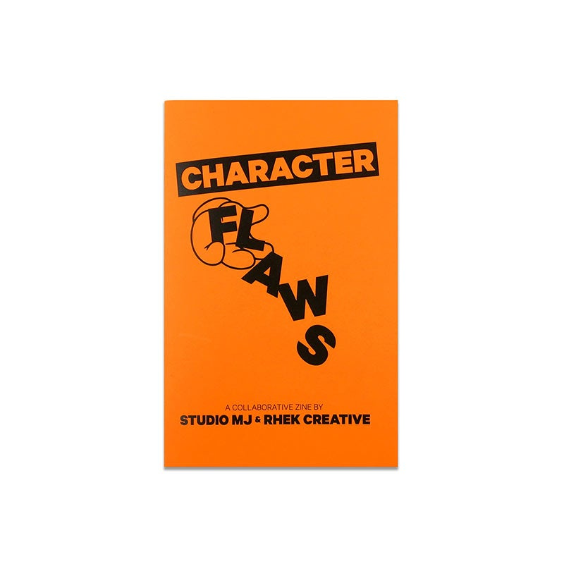 "Image of ""Character Flaws"" Collaborative Zine w/ StudioMJ & Rhek"