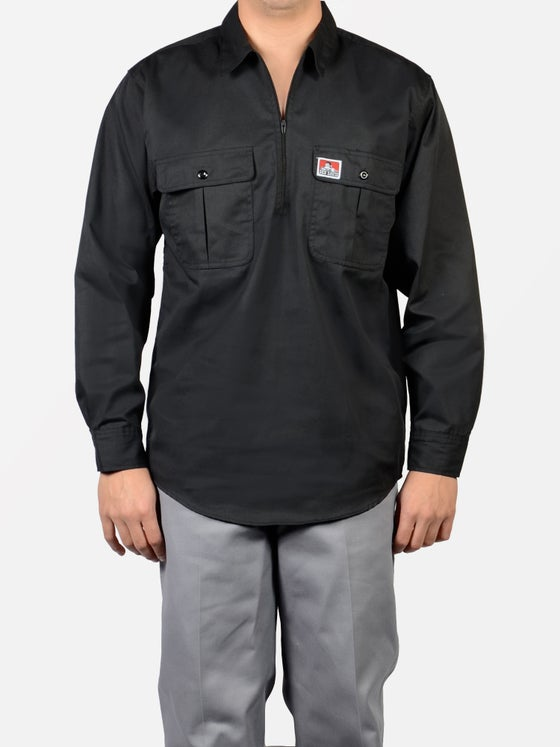 Image of Ben Davis Long Sleeve Black