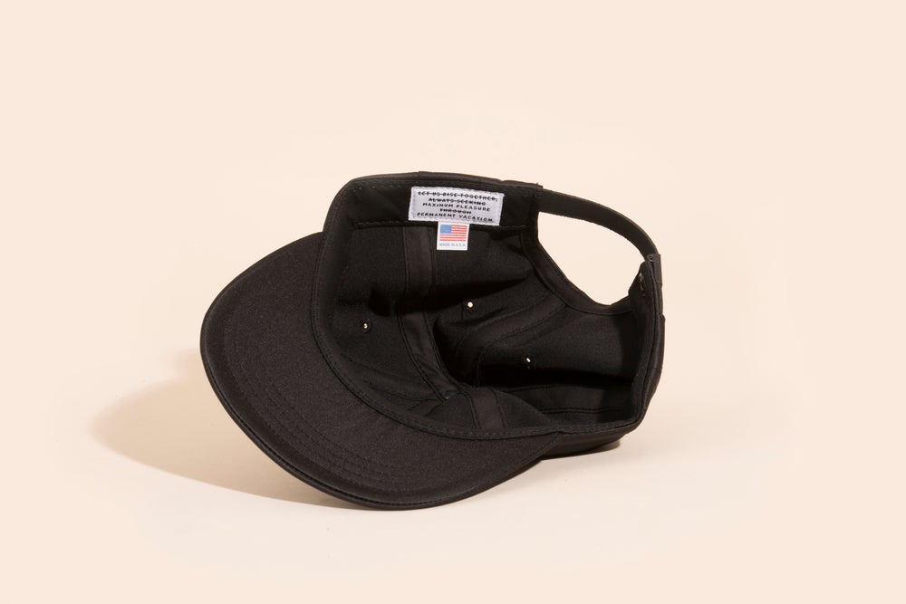 Image of Ball Cap - Black Satin
