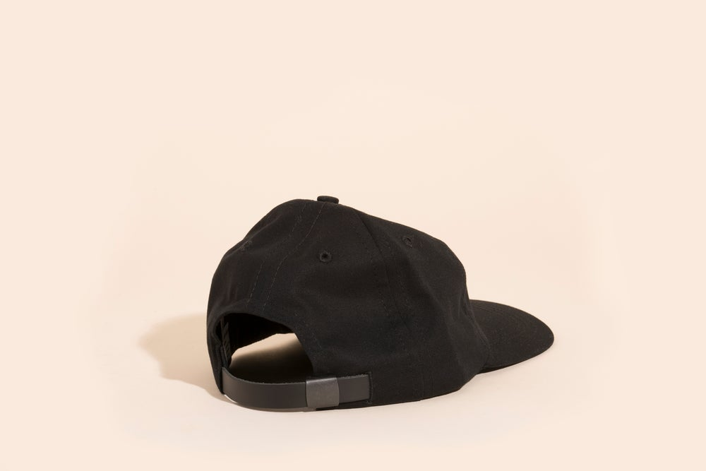 Image of Ball Cap - Blank Black Canvas