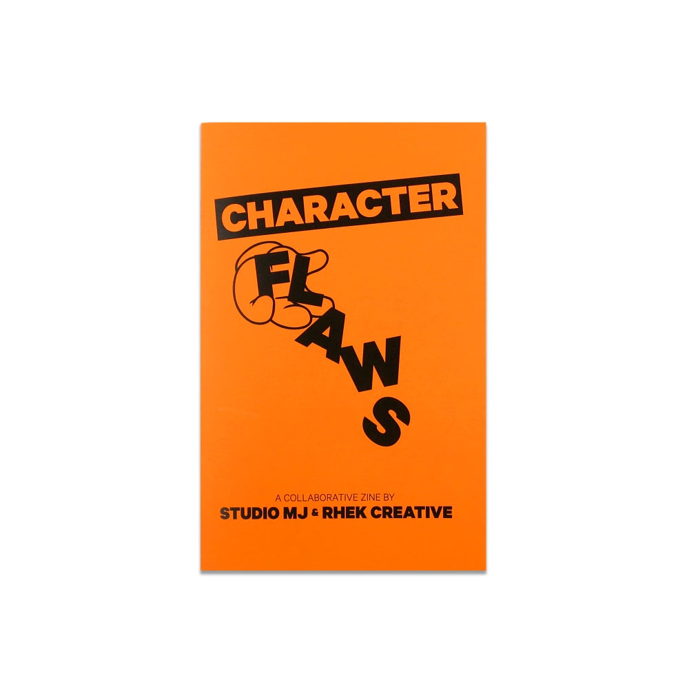 Image of CHARACTER FLAWS (SPLIT ZINE WITH MIKE JONES)