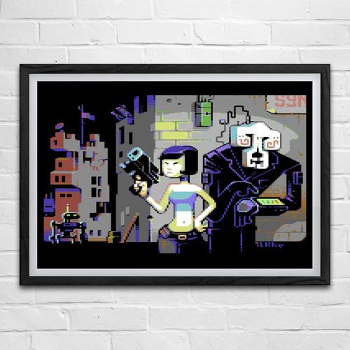 Image of Psyboarfunk / The Game Is Apaw! (A2 Poster Set)