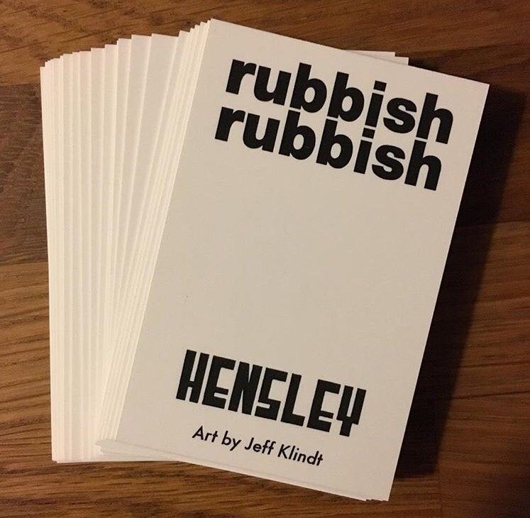 Image of Rubbish Rubbish 48 Matt Hensley art by Jeff Klindt