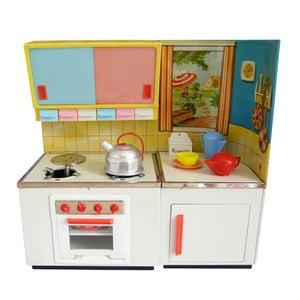 Image of grande cuisine en tôle jouet vintage