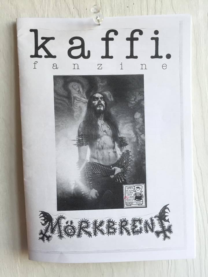 Image of kaffi fanzine Vol.#05 (Frost Cover) (2015) Standard