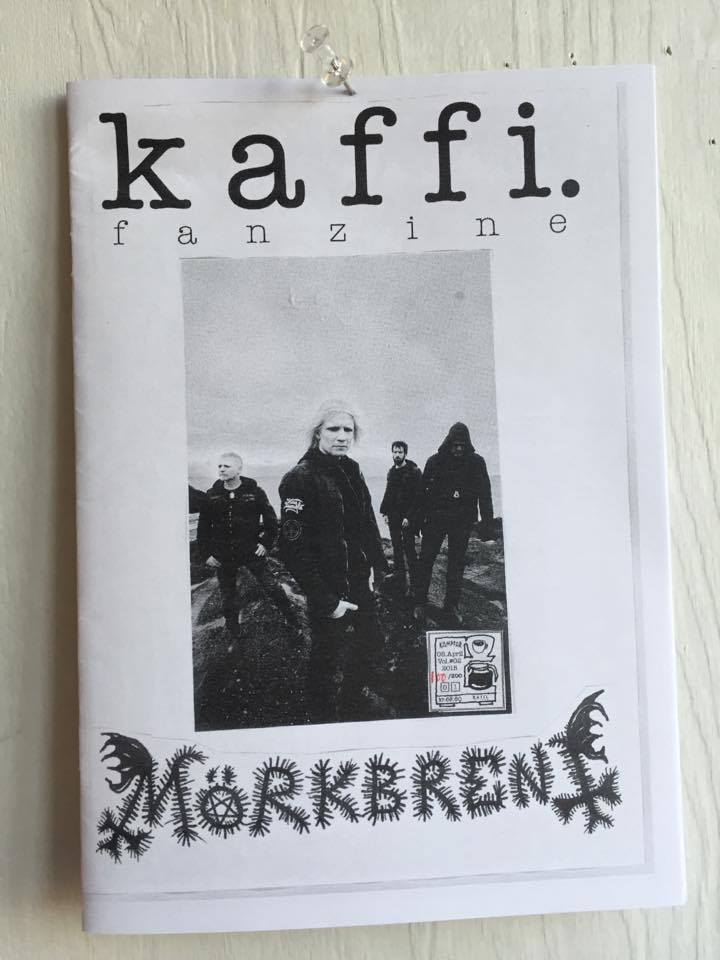Image of kaffi fanzine Vol.#05 (Kampfar Cover) (2015) Standard
