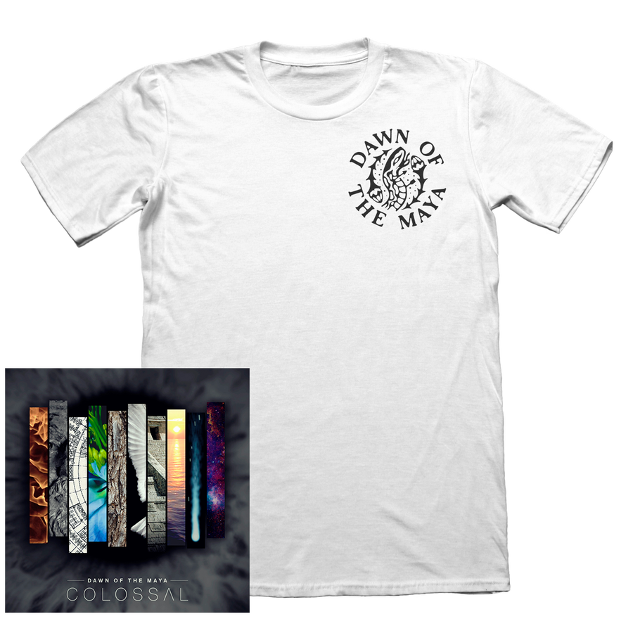 "Image of PACK: ""Colossal"" CD + ""Snake"" T-Shirt"