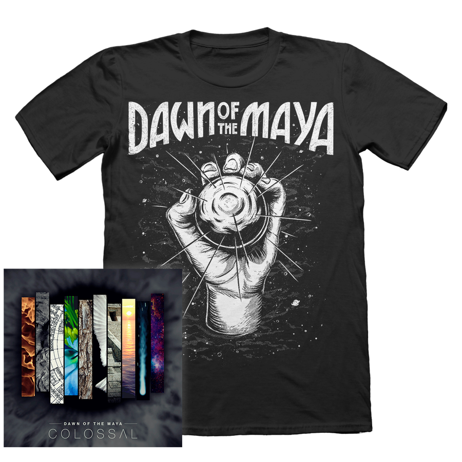 "Image of PACK: ""Colossal"" CD + ""Planet"" T-Shirt"