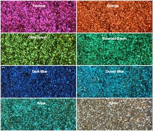 Image of Metallic Hex Glitter .015""