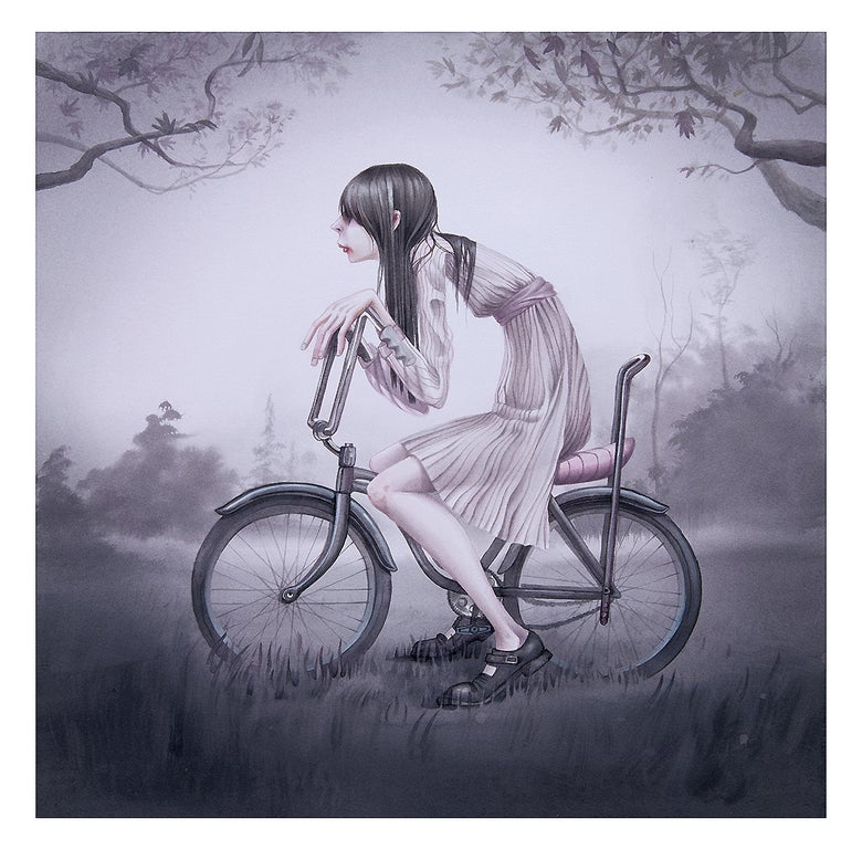 "Image of Annie Owens ""Chopper"" 14"" x 14"" Giclée Print Ltd. Ed."