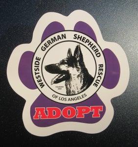 Image of Adopt Car Magnet