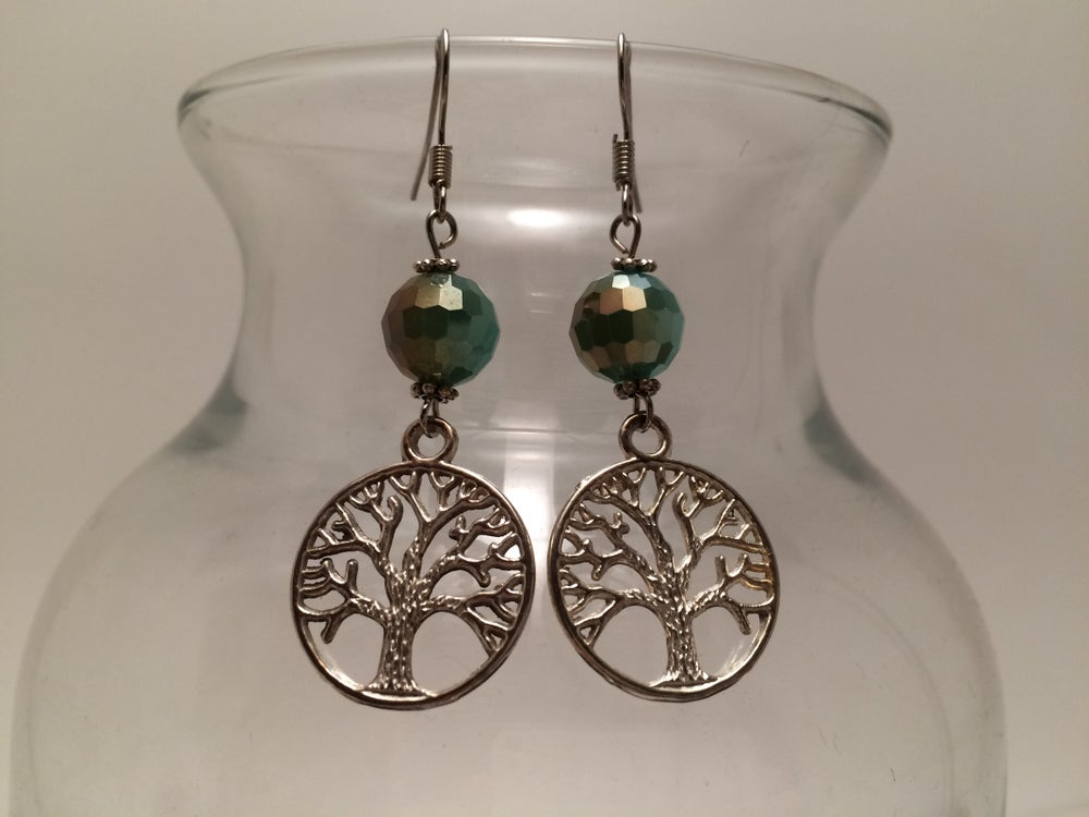 Image of Yoga Gypsy Creations ~ tree of life earrings