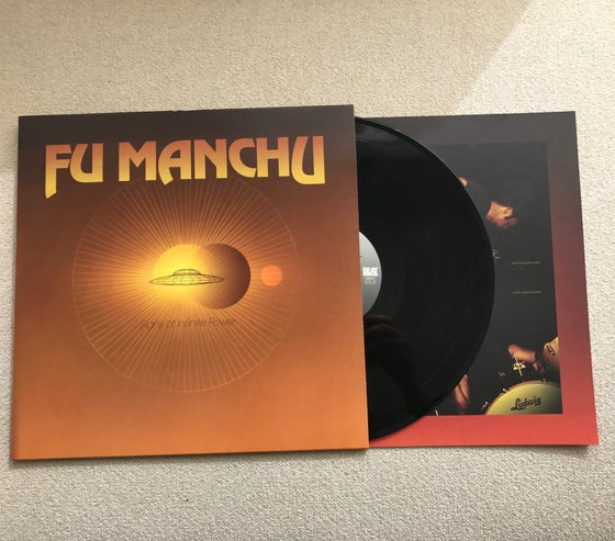 "Image of Fu Manchu ""signs of infinite power"" reissue LP"