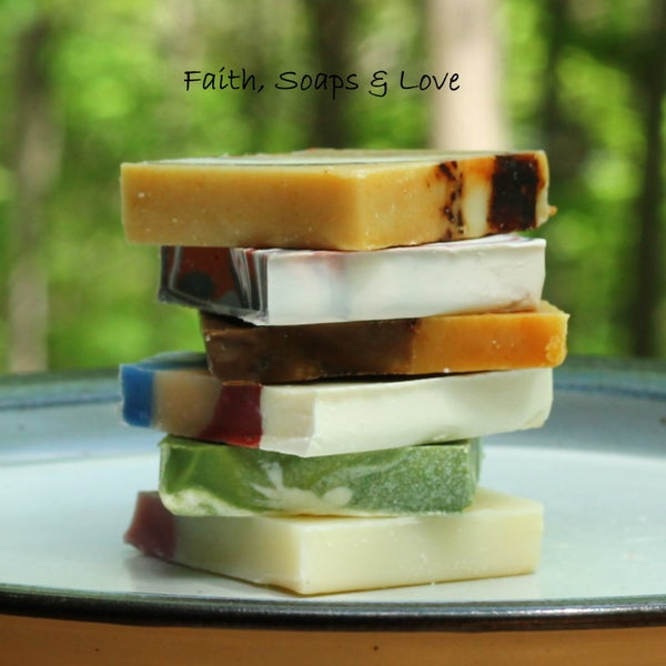 Image of Single Bits & Pieces Soap Samples - Made in Minnesota - Tester Soaps
