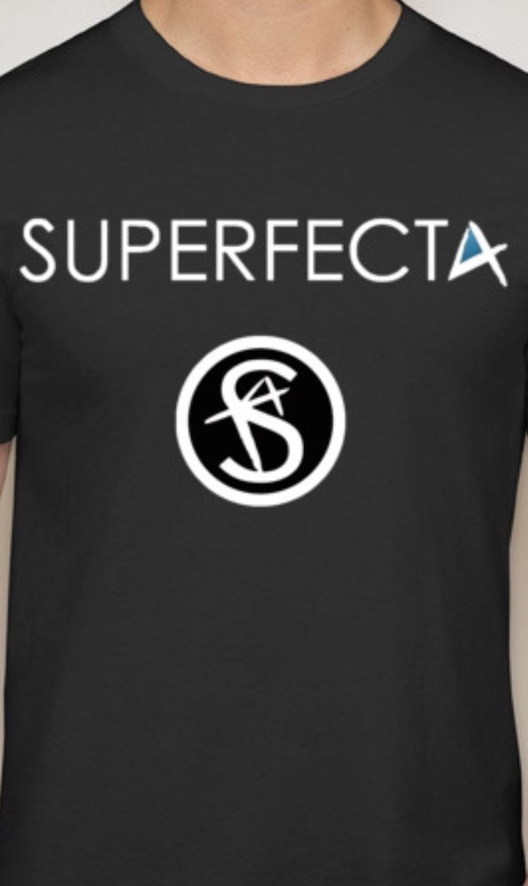 Image of Superfecta - Vintage Black Logo T-Shirt