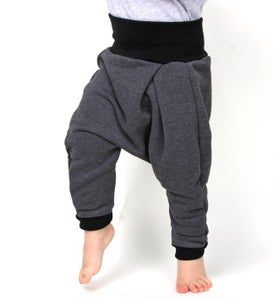 Image of Baby Superhose anthrazit meliert