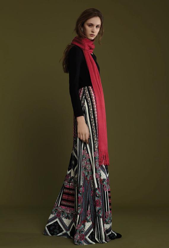 Image of FRAMPESCA WOOL PRINTED DRESS